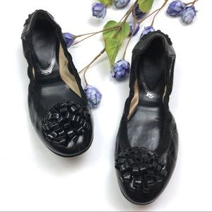 Tod's Patent Leather Ballet Driving Flat Shoes